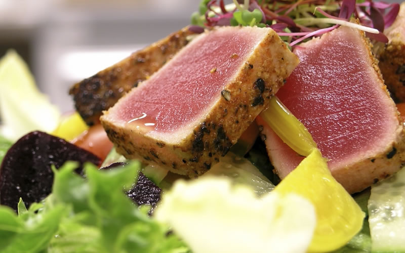 Seared Cajun Tuna Steak