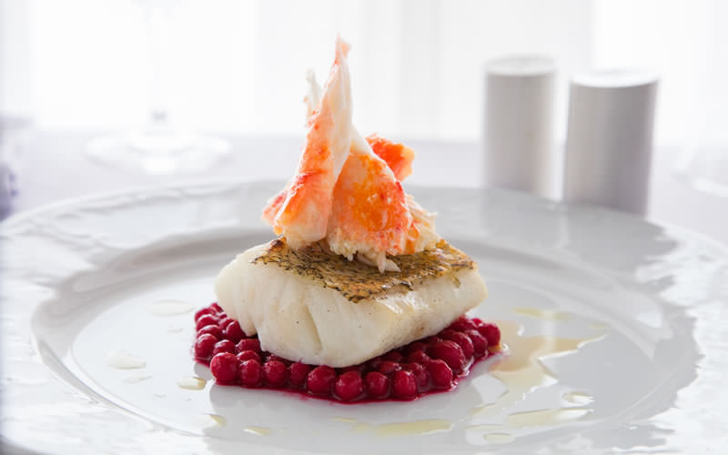 Chilean Seabass with King Crab